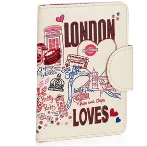 MONSOON ACCESSORIZE London Loves Passport Cover OS